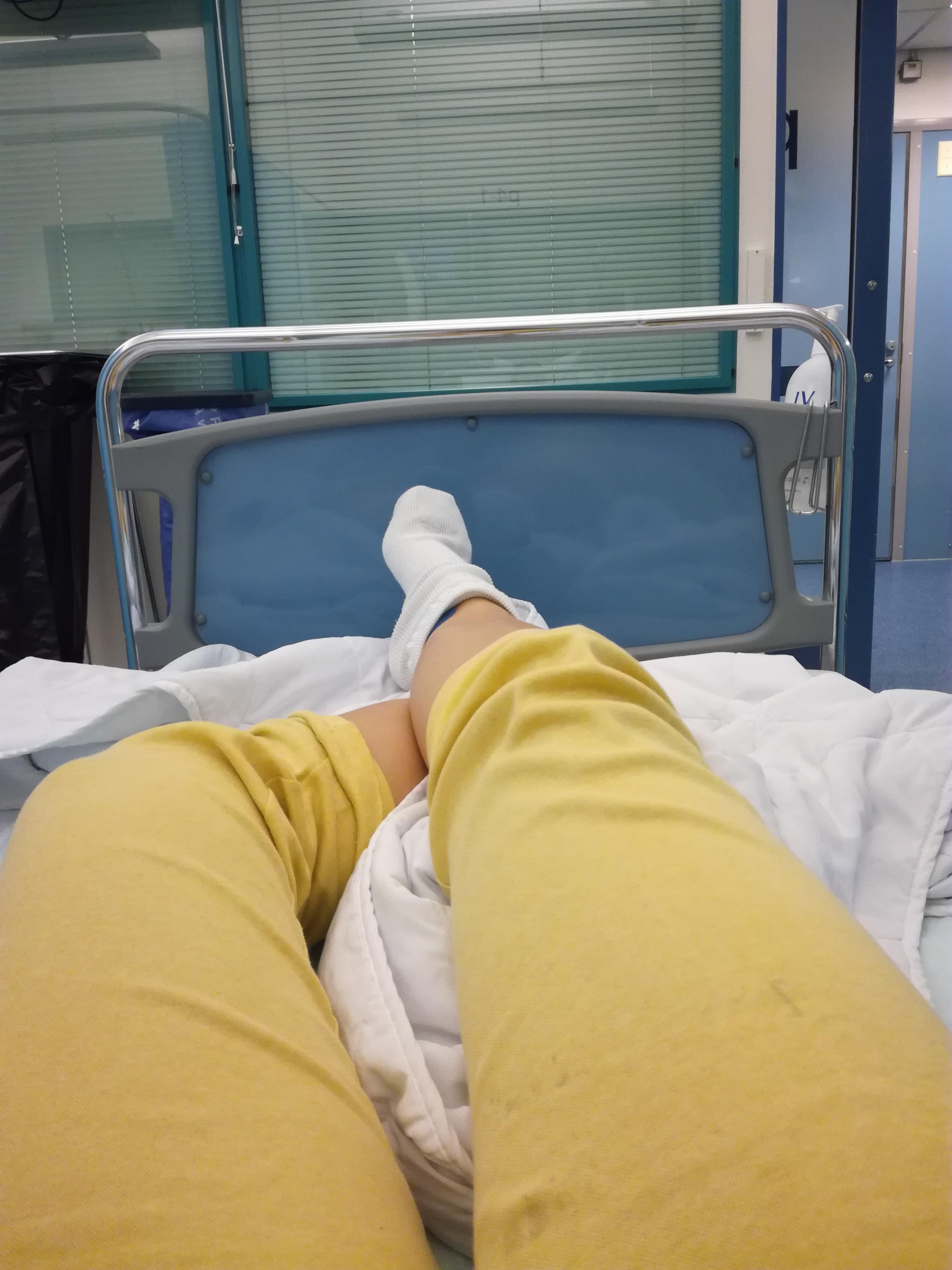 Miksi olin sairaalassa?